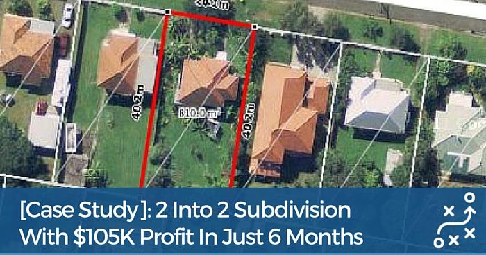 2 Into 2 Property Subdivision